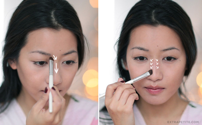 anastasia nose contouring asian makeup
