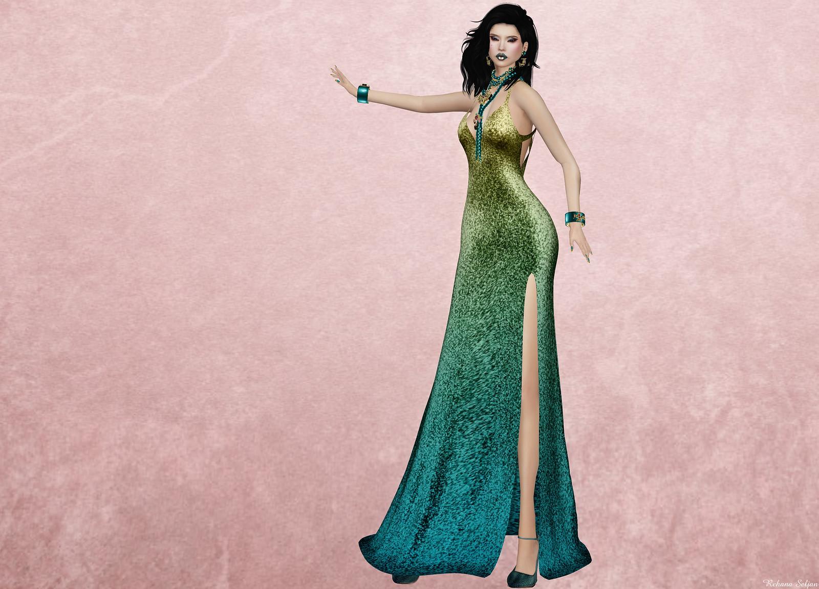 AMARELO MANGA - Ninfa Long Gown