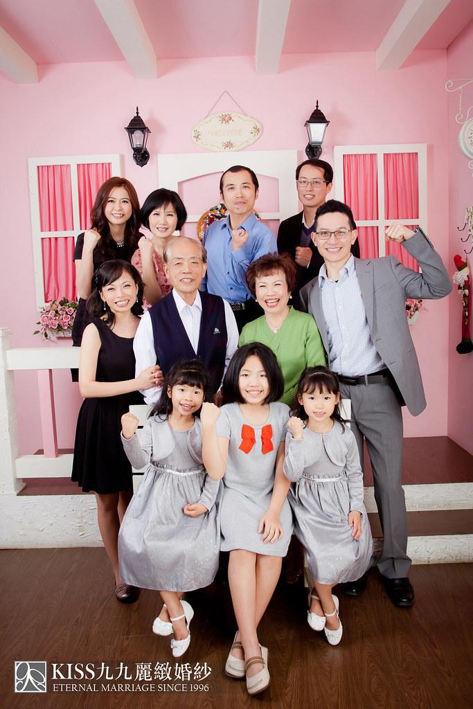 高雄週年照推薦Kiss九九麗緻婚紗 讓爸媽有個浪漫金婚週年 (7)