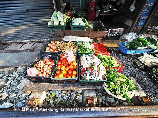 美功鐵道市場 Maeklong Railway Market 泰國自由行 45