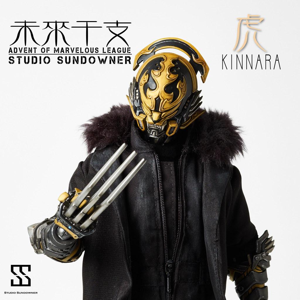 "STUDIO SUNDOWNER - ""未來干支"" 第二彈-寅將 真達羅"