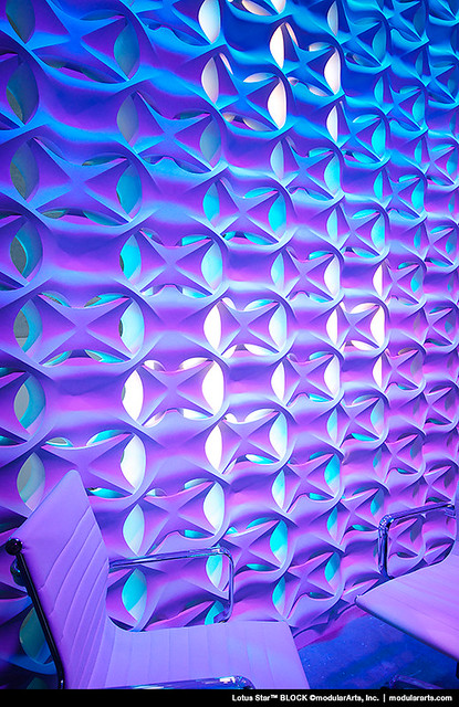 12 3D Wall Panels with LED Lighting For Evocative House Walls
