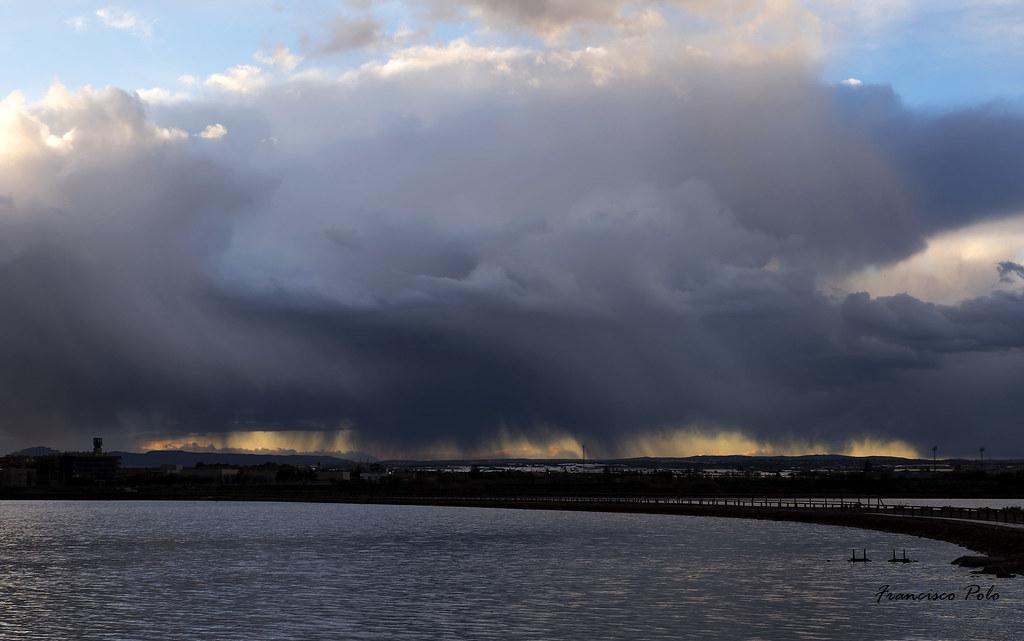Lluvia en Las Salinas