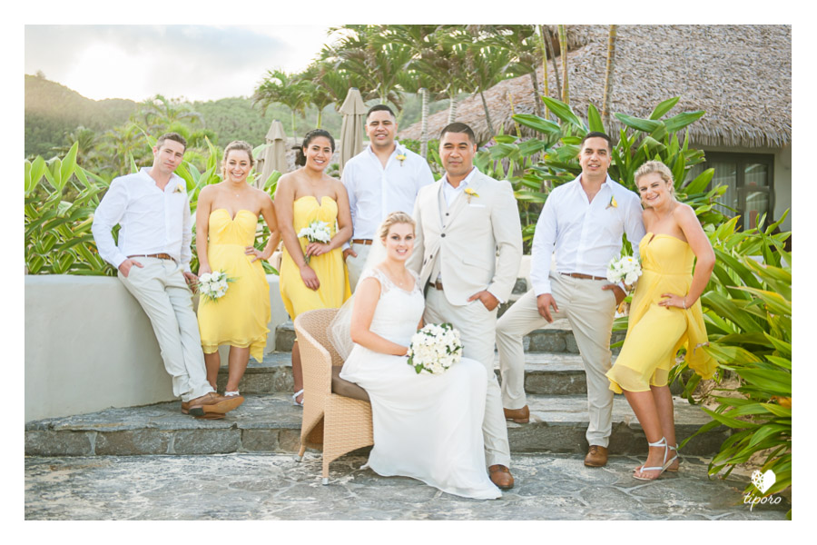 unicorn floaty, yellow bridesmaids dresses, tropical wedding, buntingtropical wedding hairstyle, makeupBridal Details: earings, wedding gown, pearl braceletBridesmaid dressing gown, The Nautilus Resort, Rarotongabridesmaids wedding bouquets, vintage, white and yellowbridesmaids and friends candidBridal Details: shoes and gown laceBridal Portaitwedding rings, wedding bandsgroom prep candid portraitgroom getting ready, vestsgroomsmen gift giving, personalised hip flasksThe Groom's Partybeach wedding, gold sash, chair coversprocessional, beach weddingtropical wedding arch, beach wedding, The Nautilus Resort, Rarotonga, yellow bridesmaids dresseswedding arch details, tipani, woven coconut fronds, maid of honourring pillow, ring exchange, beach weddingbeach wedding ceremony, kissbeach wedding, announcement, The Nautilus Resort, Rarotonga, Taakoka, Muri Beachguest congratulationscoconut cocktails, nu, beach receptionbridal party, bridesmaids, groomsmen, beach wedding, vestsbridal party, bridesmaids, groomsmen, beach wedding, vests, outfits