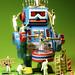 Robot in the mask - Roboter in der Maske by marco.federmann