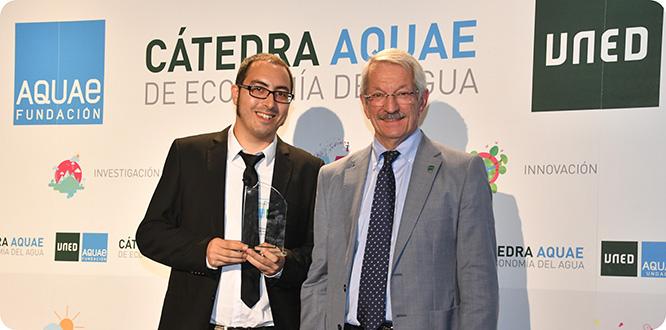 Un profesor de la UPCT gana el premio a la mejor tesis sobre economía del agua