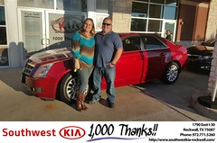 #HappyBirthday to William from Mauricio Pena at Southwest KIA Rockwall!
