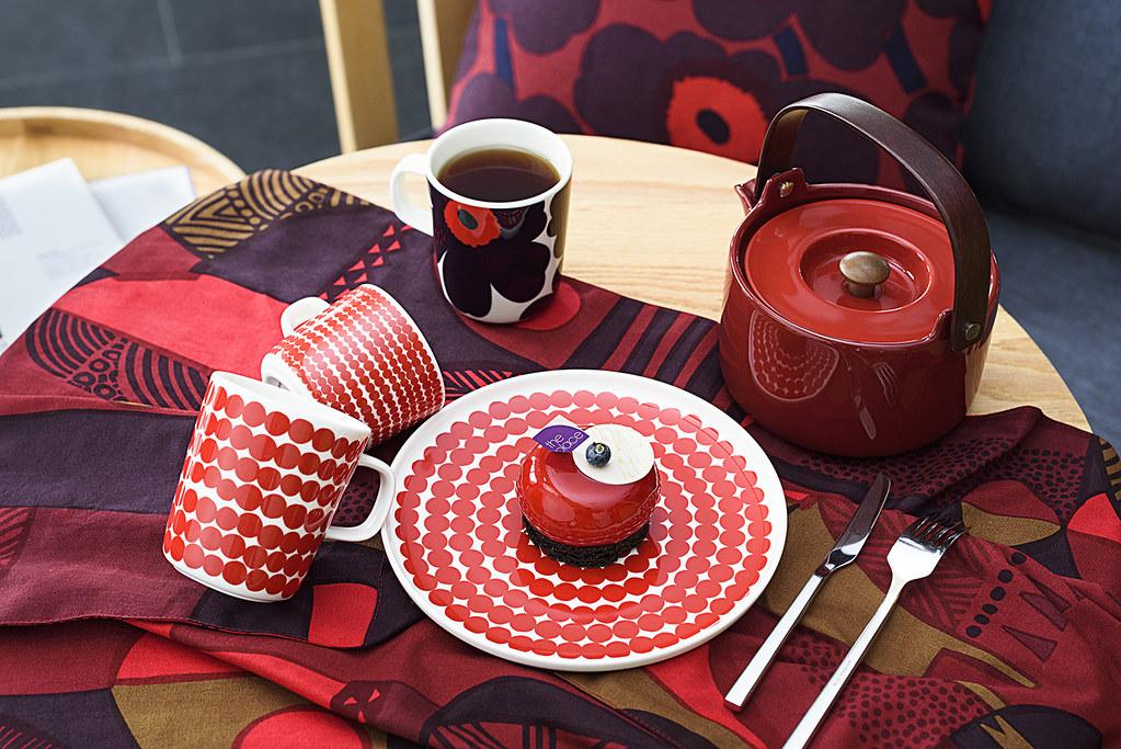 【台南老爺行旅x Marimekko】Kkoko Mousse Tea Time│Marimekko回甘午茶組合
