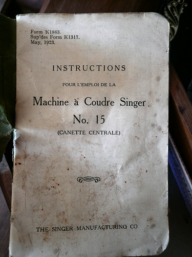 Instruction book title page
