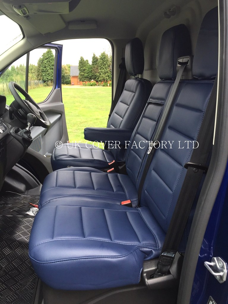 Ford Transit Connect 2014 Van Seat Covers All Blue