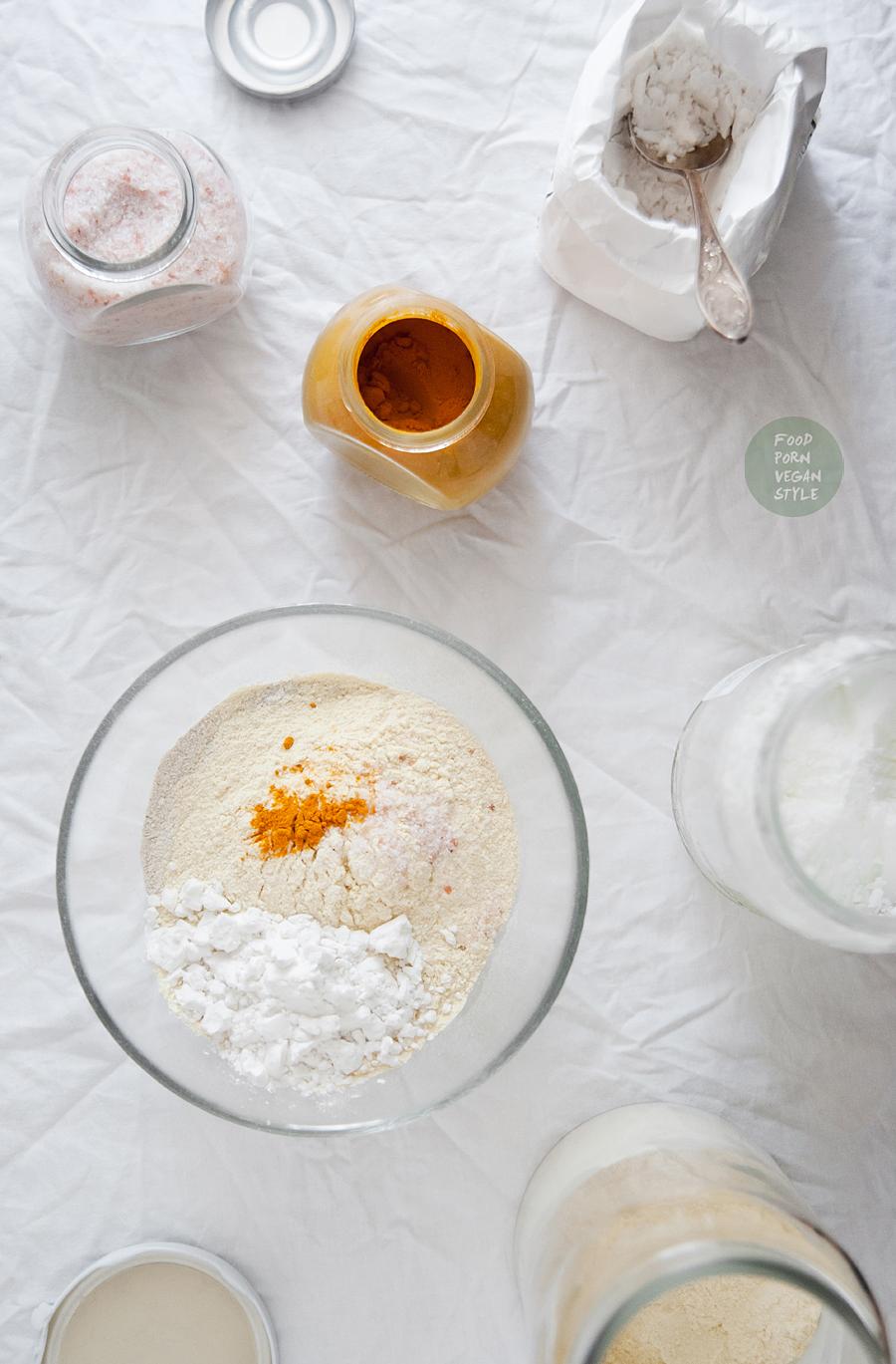 Vegan gluten-free pie crust (sweet and savory version)