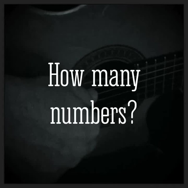 How many numbers?