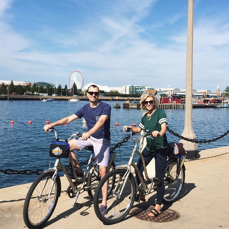 Renting bikes was the best idea we had! We loved riding along the lake front. Such a fun way to see the city!