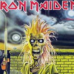 "IRON MAIDEN S/T SELF-TITLED DEBUT Germany 12"" Vinyl LP"