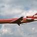 N402BN Braniff International 727-227 landing at KCLE by GeorgeM757