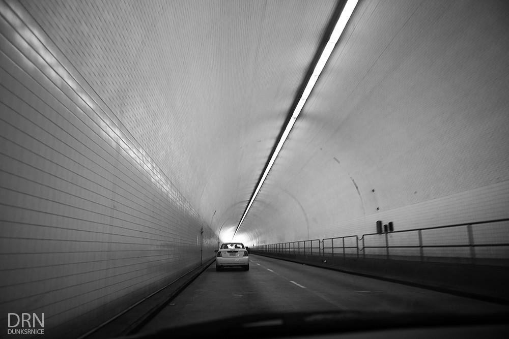 Tunnel B&W.