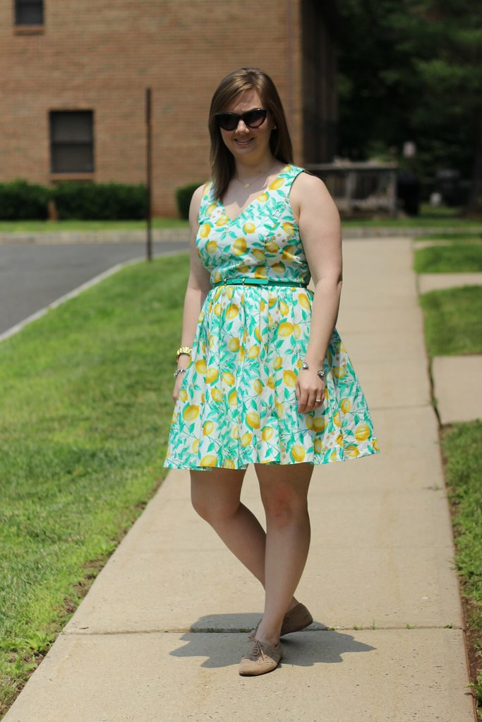 Kohls Lemon Dress (1)