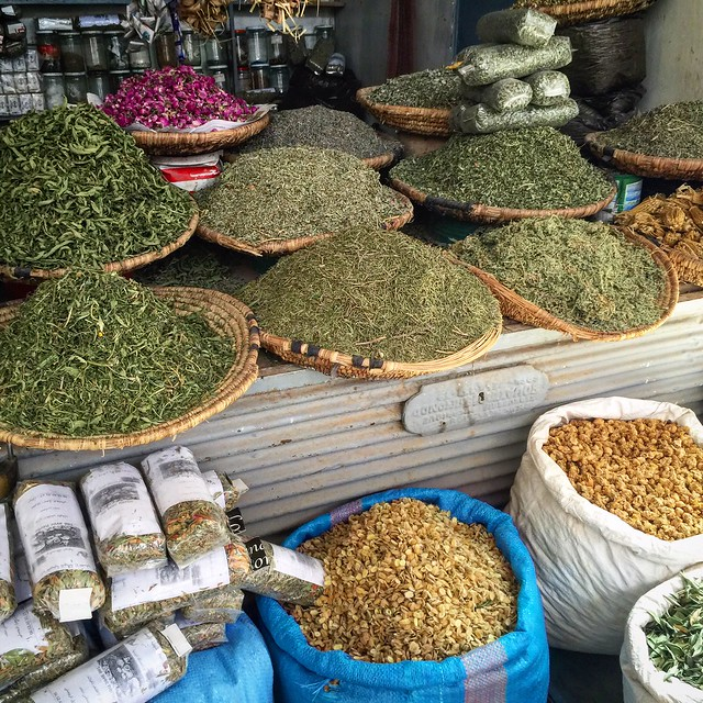 Spices in Rissani