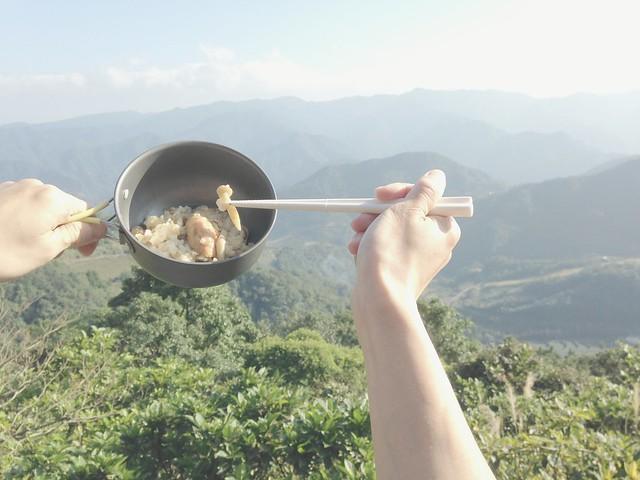 雙菇鹽麴烤雞燉飯