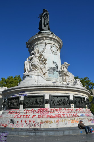 Paris Place de la Republique Aug 15 (2)