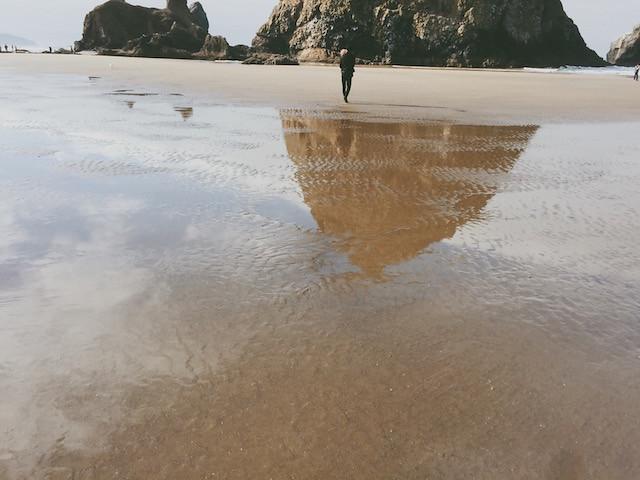 October beach trip
