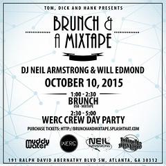 10/10 - BRUNCH & A MIXTAPE COMES TO ATL  @ TOM,DICK & HANK