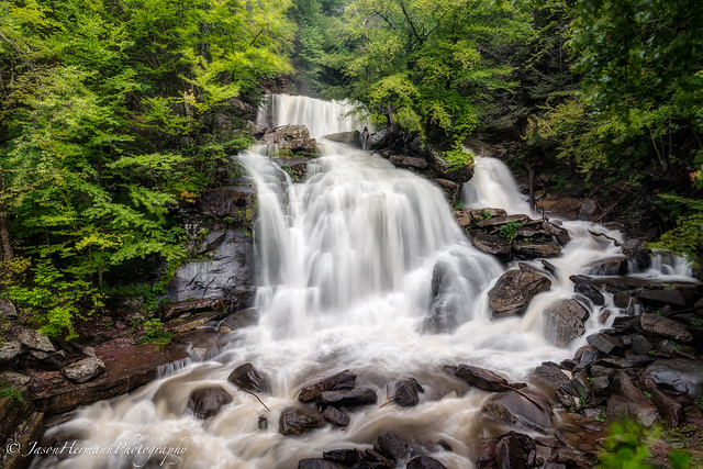 Lower Kaaterskill Falls - A7r Mark II - HDR