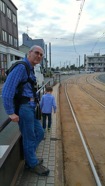 Eskil on these tram stops terrifies me