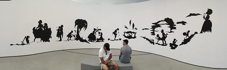 IMG_1394 _ African't. 1996, Kara Walker, Broad Museum, LA