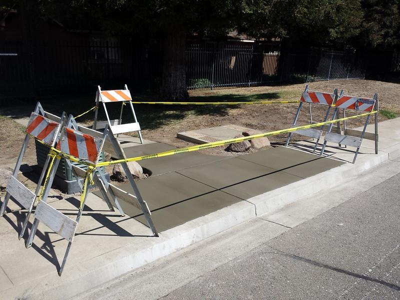 City Sidewalk Trip Hazard Repair In Vacaville - Solano