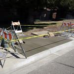 City Sidewalk Trip Hazard Repair In Vacaville