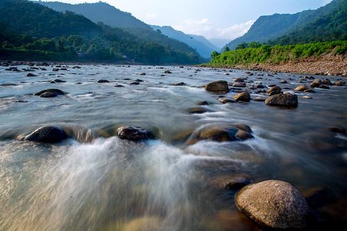 Bisnakandi Water Flowing, Sylhet, Bangladesh