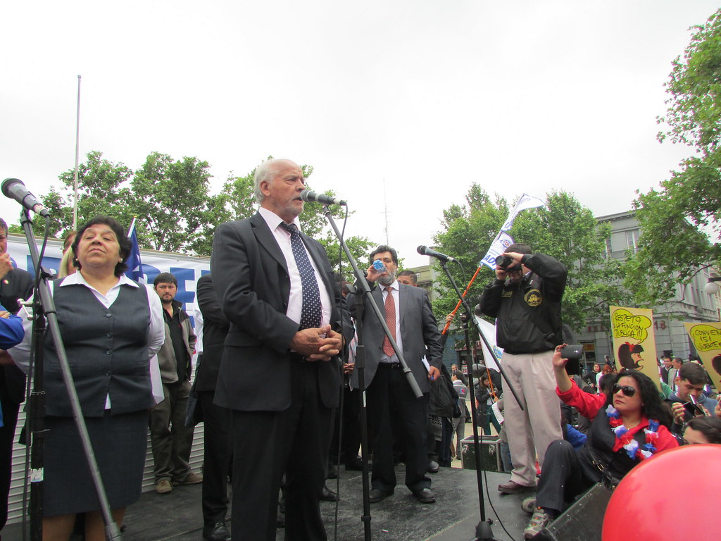 AFSAG presente en gran marcha ANEF en apoyo del Registro Civil - 28 Octubre 2015
