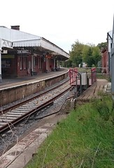 Brockenhurst Railway Station Swing Bridge