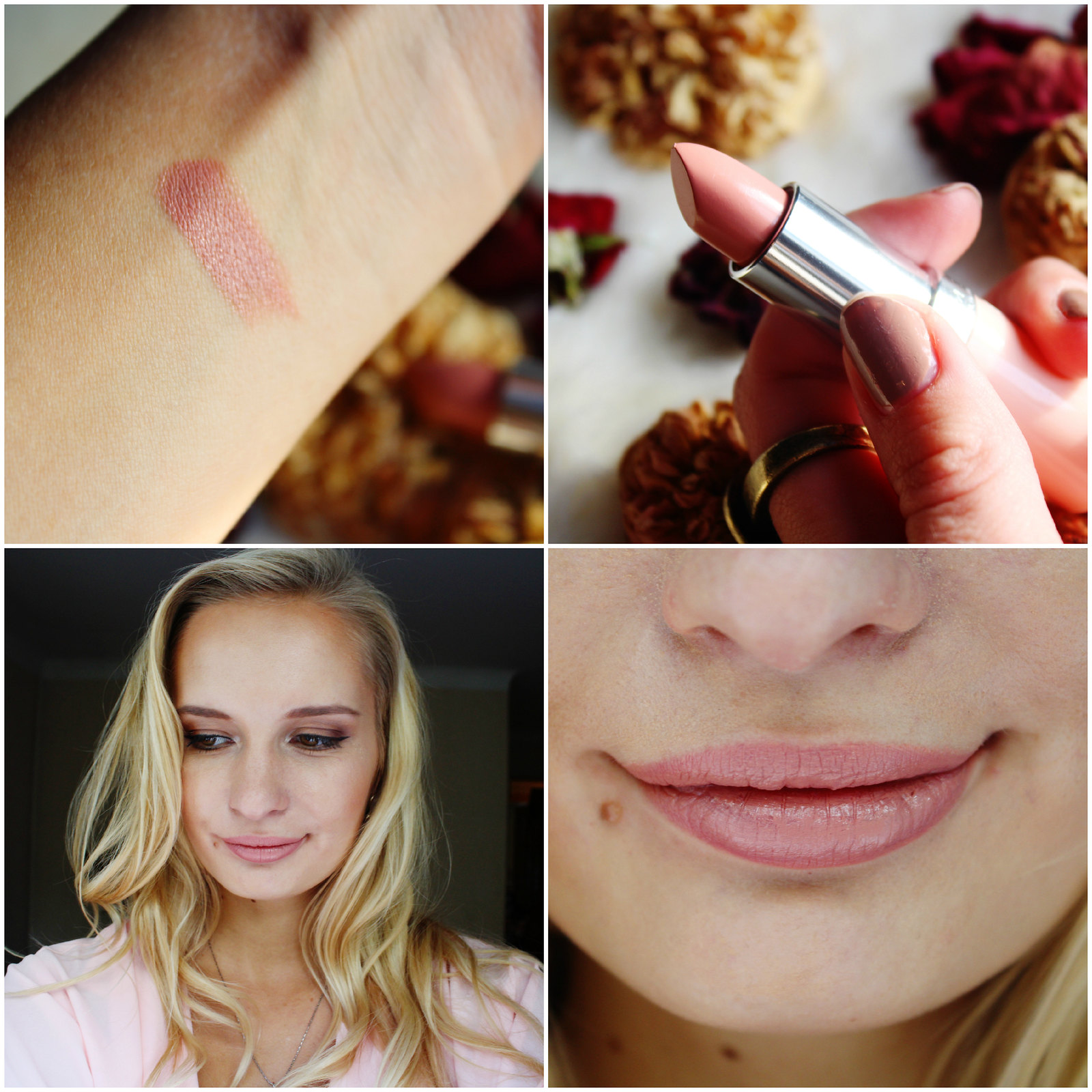 Rimmel Long Lasting Finish Kate Nude Lipstick collection review shade 42