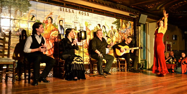 Flamenco Show Madrid - Tablao Flamenco Villa Rosa