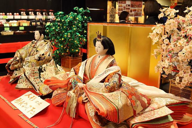 日田醤油の雛人形