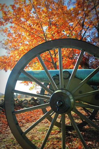Gettysburg NMP ~ Fall cannon - HCS!