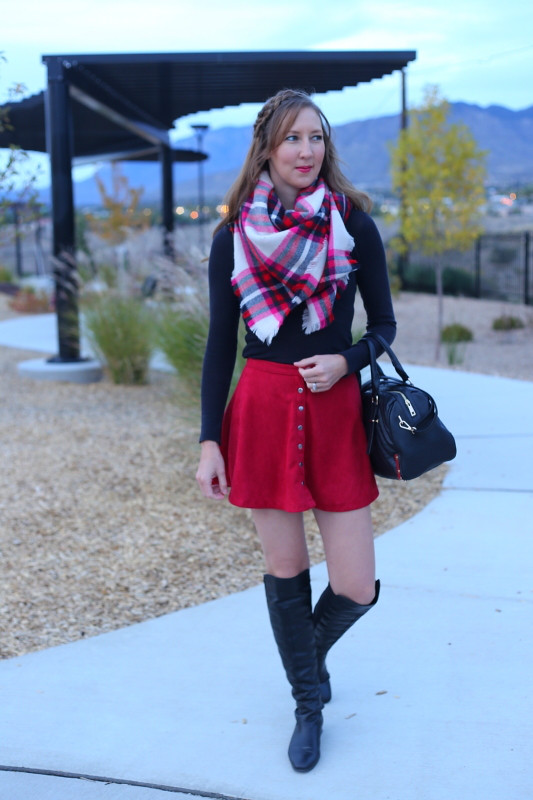 Dresses And Denim Blog fall outfit