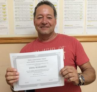 Aldo Hernandez Testimonio de Servicio de Reparacion del Credito en Municipal Credit Service Corp