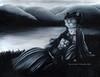 Pax in Morte Cat Painting