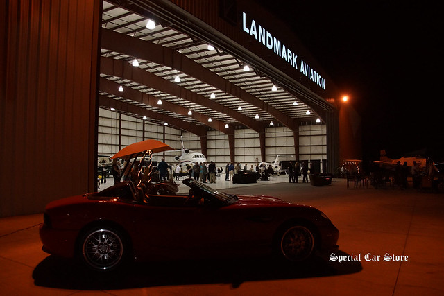 Evening of Desert Concorso 2015 at Landmark Aviation Hanger