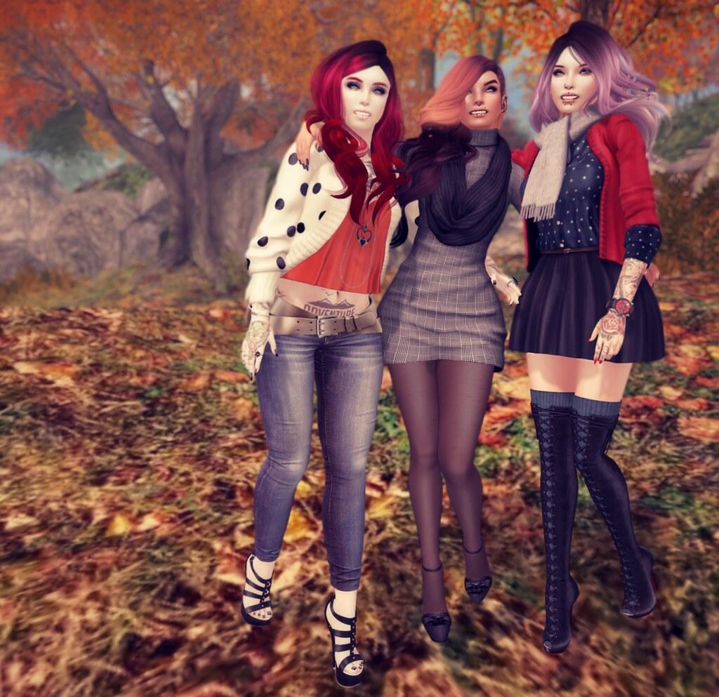 fall + friends