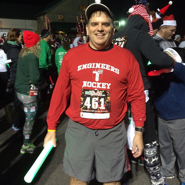 Run the Lights 2015. Two miles with 2000 people. #runbucks
