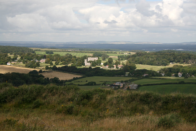 View from Flower's Barrow near Kimmeridge