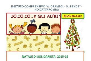 Noicattaro. Natale di Solidarietà Gramsci front