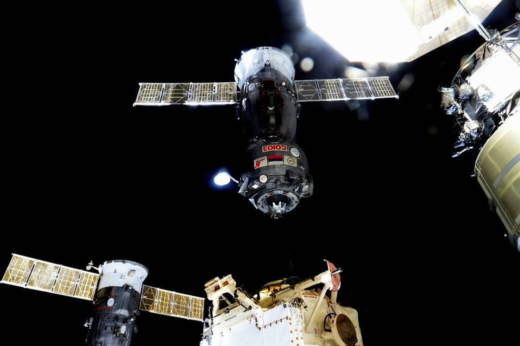 Expedition 45 Crew Members Return Home