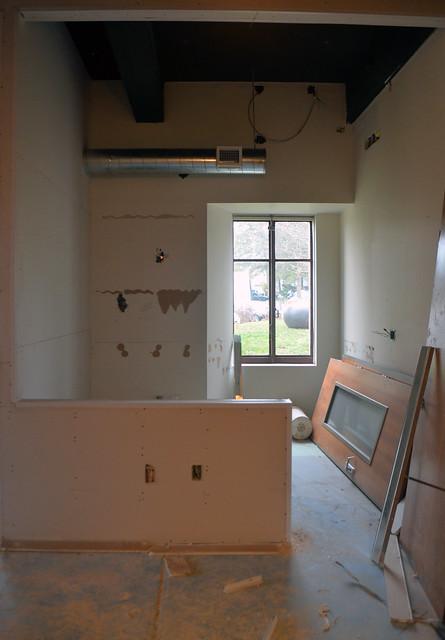 Vance Wall Art Education Center Construction