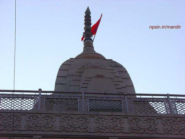 Main Shikhar of Shri Durga Temple