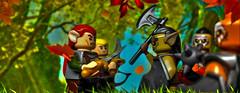 elven guard vs orcs